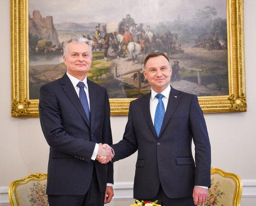 Prezidentas Varšuvoje paminės Antrojo pasaulinio karo